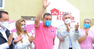 Inauguran Juan Carlos Barragán y Cristóbal Arias Módulo de Atención Ciudadana en Villas del Pedrega