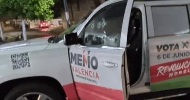Atacan a balazos camioneta de Memo Valencia; hay dos lesionados
