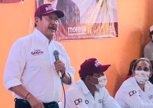 #RuidoEnLaRed Leonel Godoy, en la ruta por coordinar Morena en la Cámara de Diputados