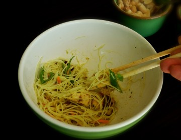 Rice Noodle Salad With Chicken & Curry Dressing