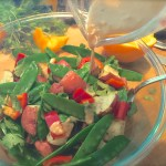Snow Peas & Potatoes With Easy Asian Dressing