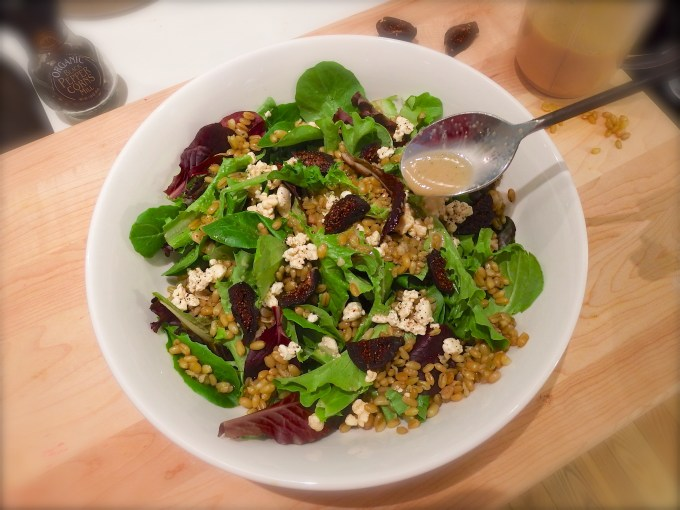 Freekeh Salad – Tangy Thyme Vinaigrette