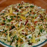 Apple, Pear & Pineapple Slaw