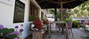 Bio-Hotel Saladina Gastgarten