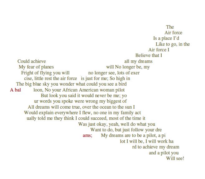 Famous Concrete Poems 5