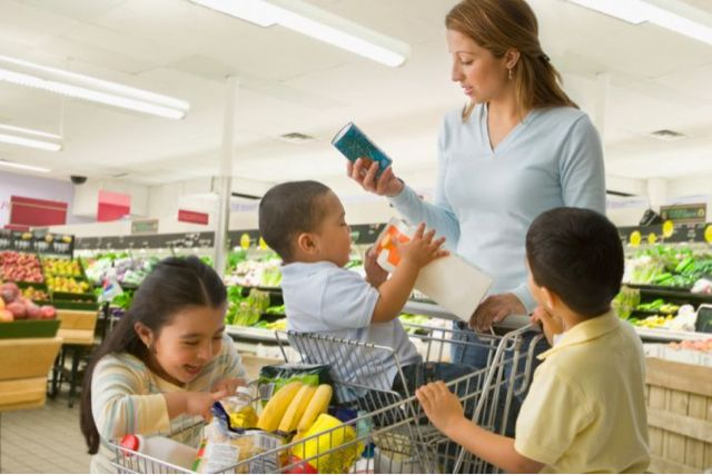 Grocery Shopping For Health