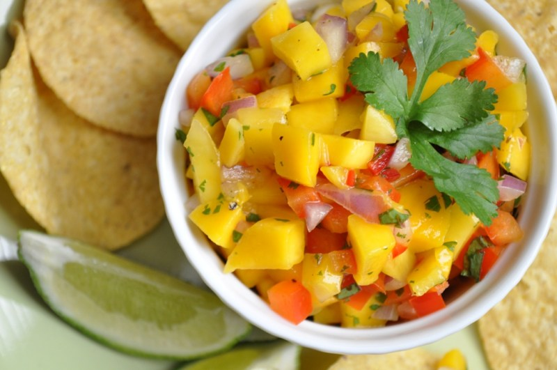 Food Friday: Yummy Mango Salsa