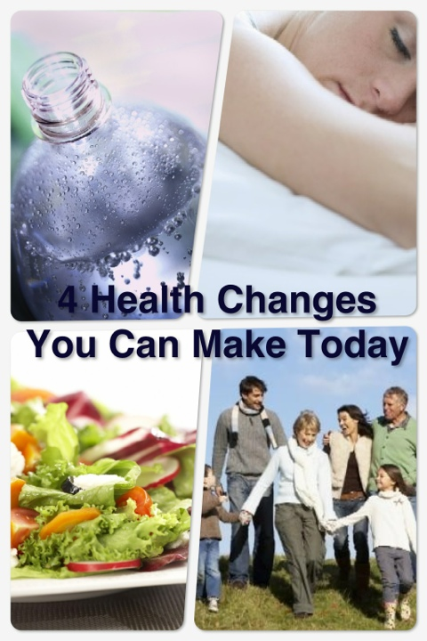Wordless Wednesday: 4 Health Changes You Can Make Today