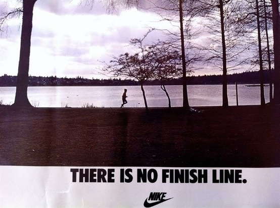 There's No Finish Line in Fitness