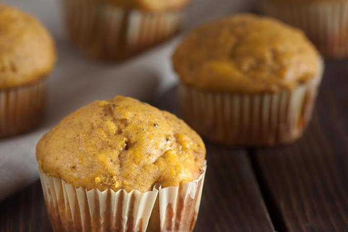 Low-Fat Pumpkin Trail Mix Muffin Recipe