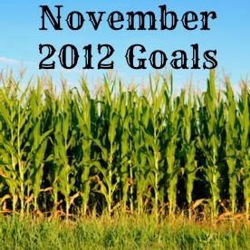Motivation Monday: November Goals