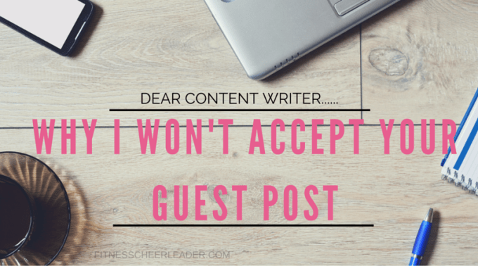 Here's why I won't publish your guest post…