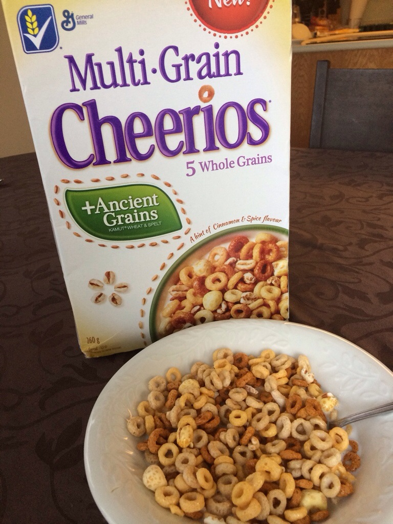 Multi-Grain Cheerios + Ancient Grains Cereal Review and Fitness #Giveaway