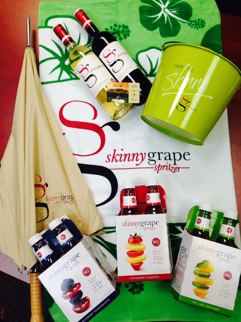 Skinnygrape Spritzers Review and Giveaway