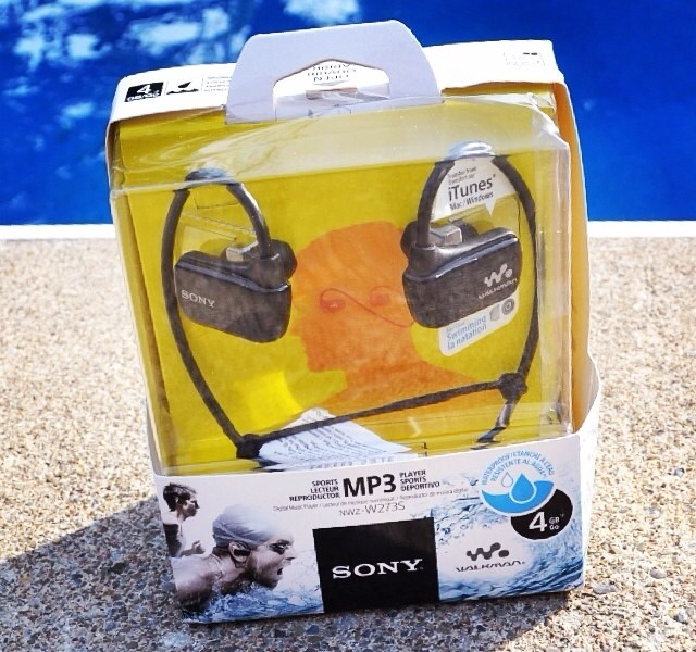 Sony WaterProof MP3 Player Review + $100 Best Buy Gift Card Giveaway!