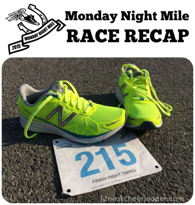 Monday Night Mile Race Recap