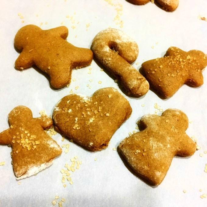 Soft Baked Gingerbread Men