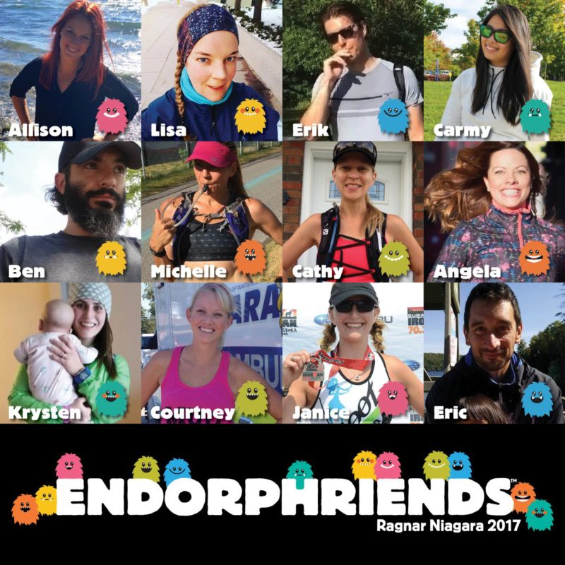 Team Endorphriends - Ragnar Niagara 2017