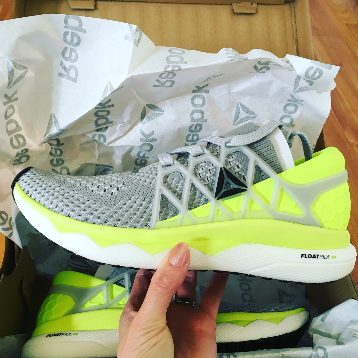 Reebok Floatride Run Shoe Review #sponsored