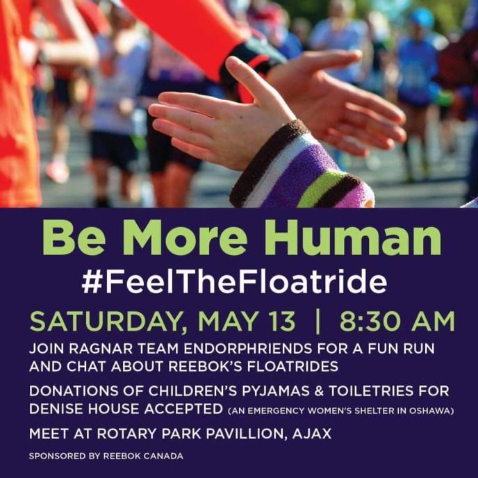 Be More Human Float Run