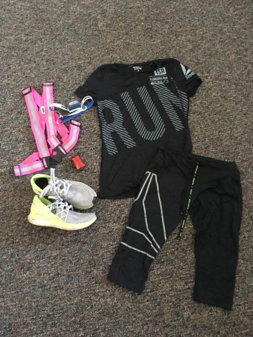 Reebok activchill running gear and Reebok floatride shoes