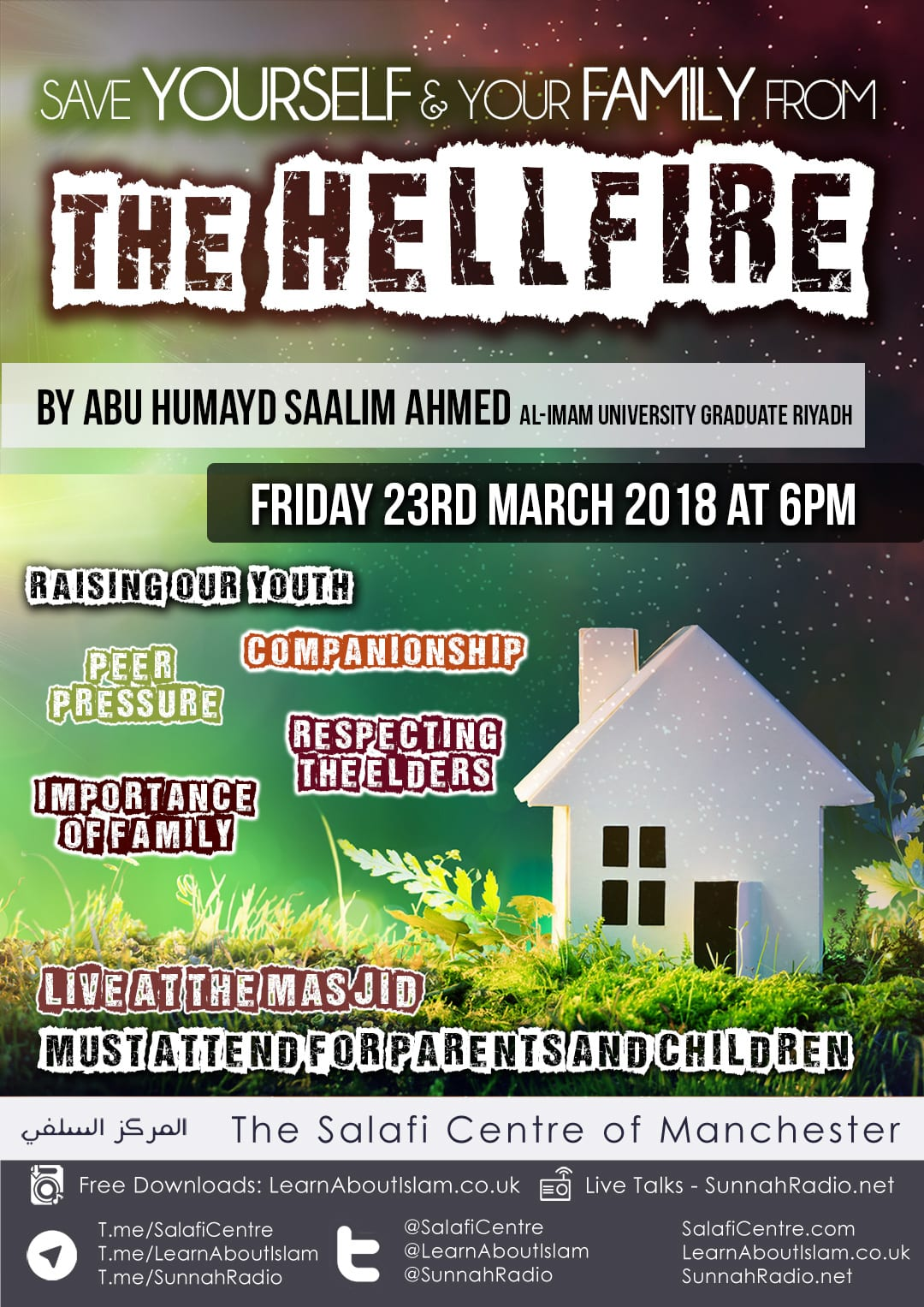 Live and Exclusive Parent & Child Talk! – Save Yourself and Your Family from The HellFire