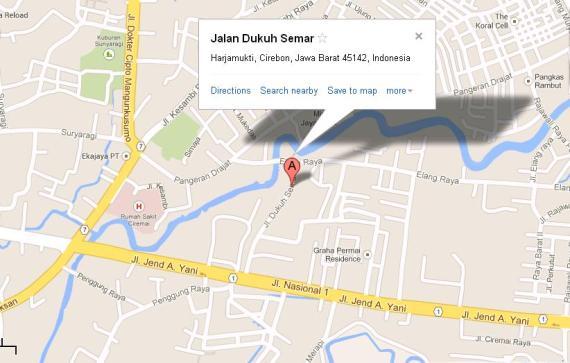 Peta Menuju Mahad Dhiya' Sunnah
