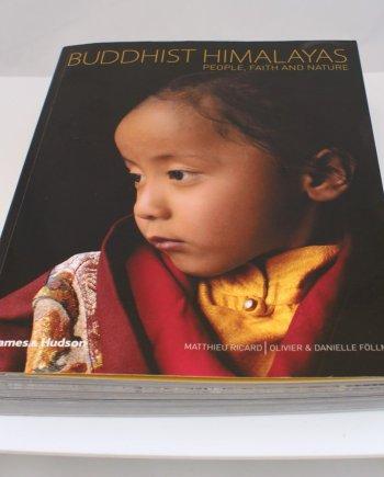 Buddist Himalayas Illustrated Book