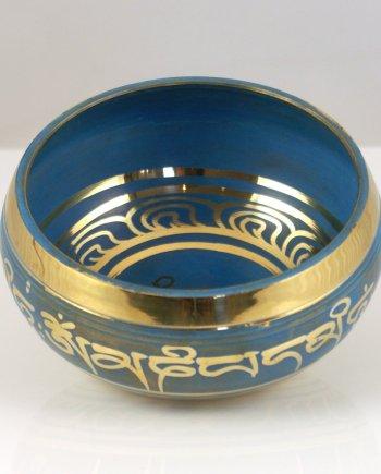 11cm Singing Bowl in Blue