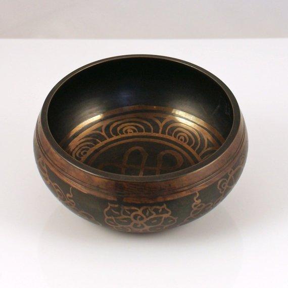 11cm Singing Bowl in Black