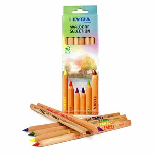 lyra pencil set of 6