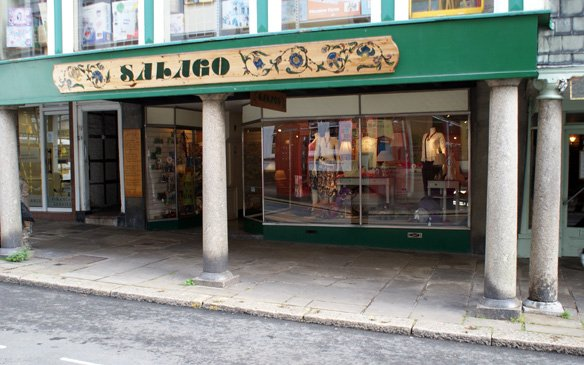 Old original shop front