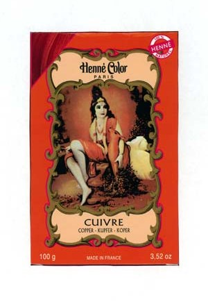 Henna Copper Colouring & Conditioning Powder