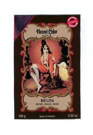 Henna Brown Colouring & Conditioning Powder