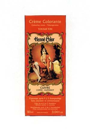 Henna Copper