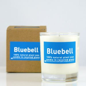 Bluebell Organic Candle by Heaven Scent
