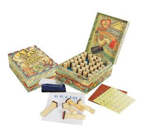 A-B-Seas Stamp Set by Authentic Models
