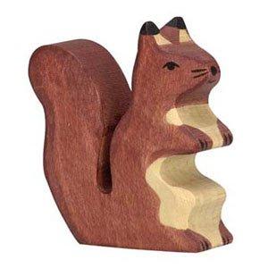 Holztiger Brown Squirrel Sitting