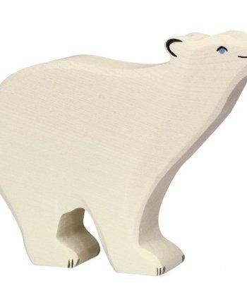 Holztiger Polar Bear