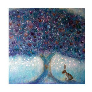 the hare and the butterfly tree by Annie B