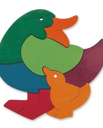 rainbow duck puzzle