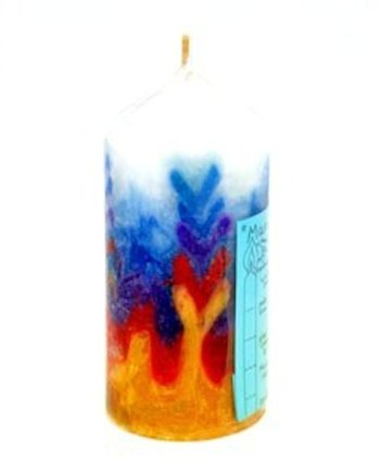 Mary Pillar candle