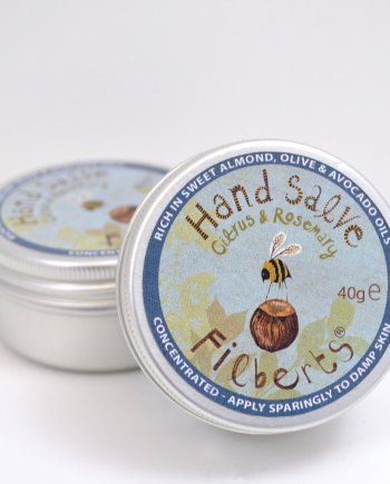 Filberts Bees Citrus and Rosemary Hand Salve