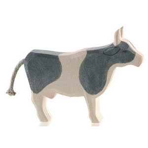 OstheimerBlack and White Cow Standing