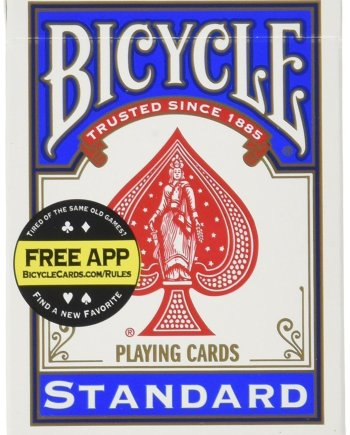 Bicycle Playing Cards Standard Blue