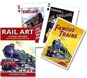 Piatnik Playing Cards Rail Art