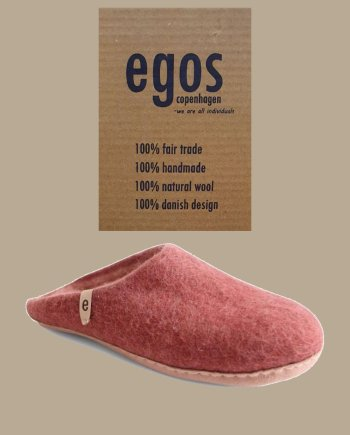 egos rusty red mule slipper