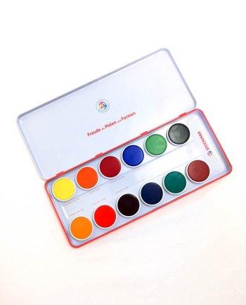 Stockmar Opaque Paint 12 Colour Set