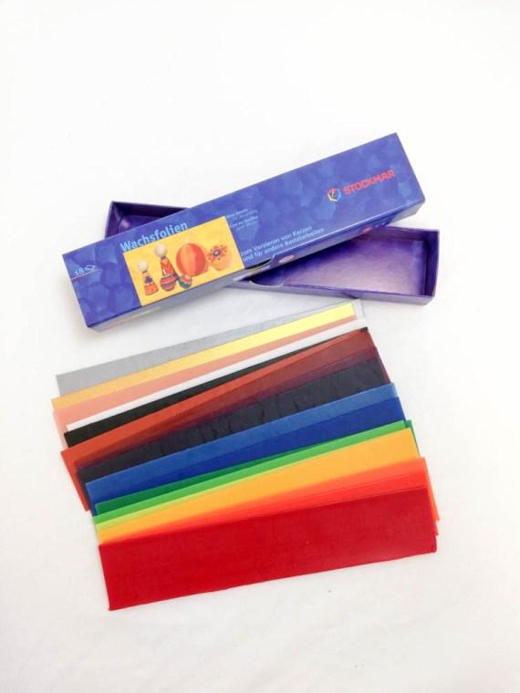 Stockmar Wax Foil Sheet for Decorating 18 Sheet Set
