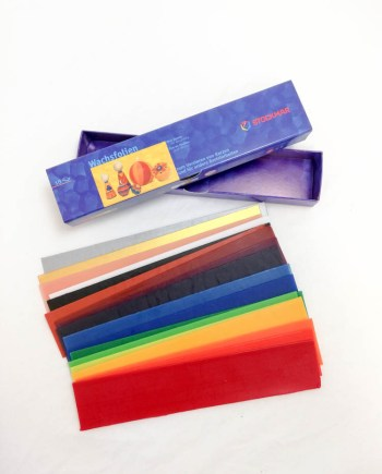 Stockmar Wax Foil Sheet for Decorating 18 Sheet Set